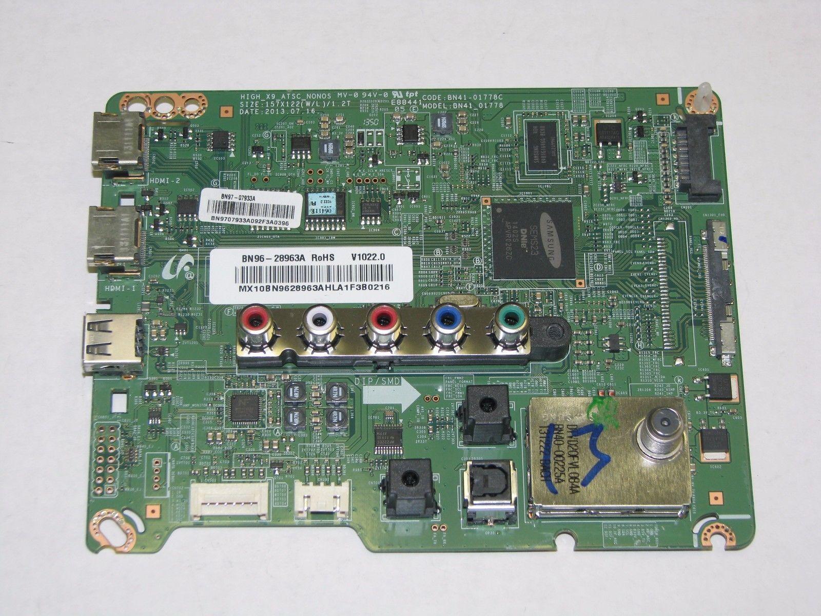 Samsung UN65EH6000 Main Board BN96 28963A