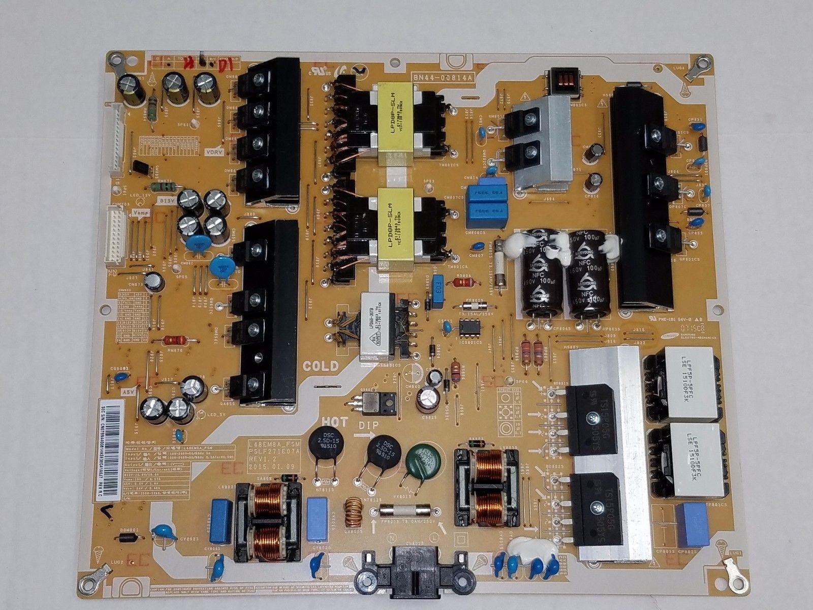 Samsung UN48JS9000 Power Supply BN44 00814A