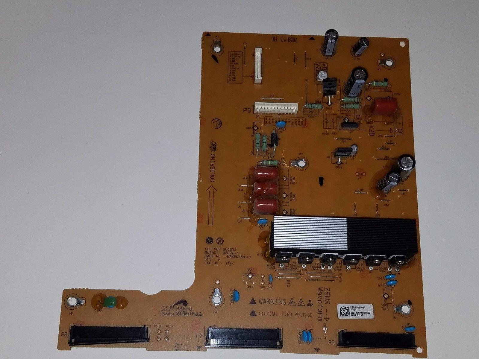LG 42PQ10 UB Z Sustain Board EBR61021001