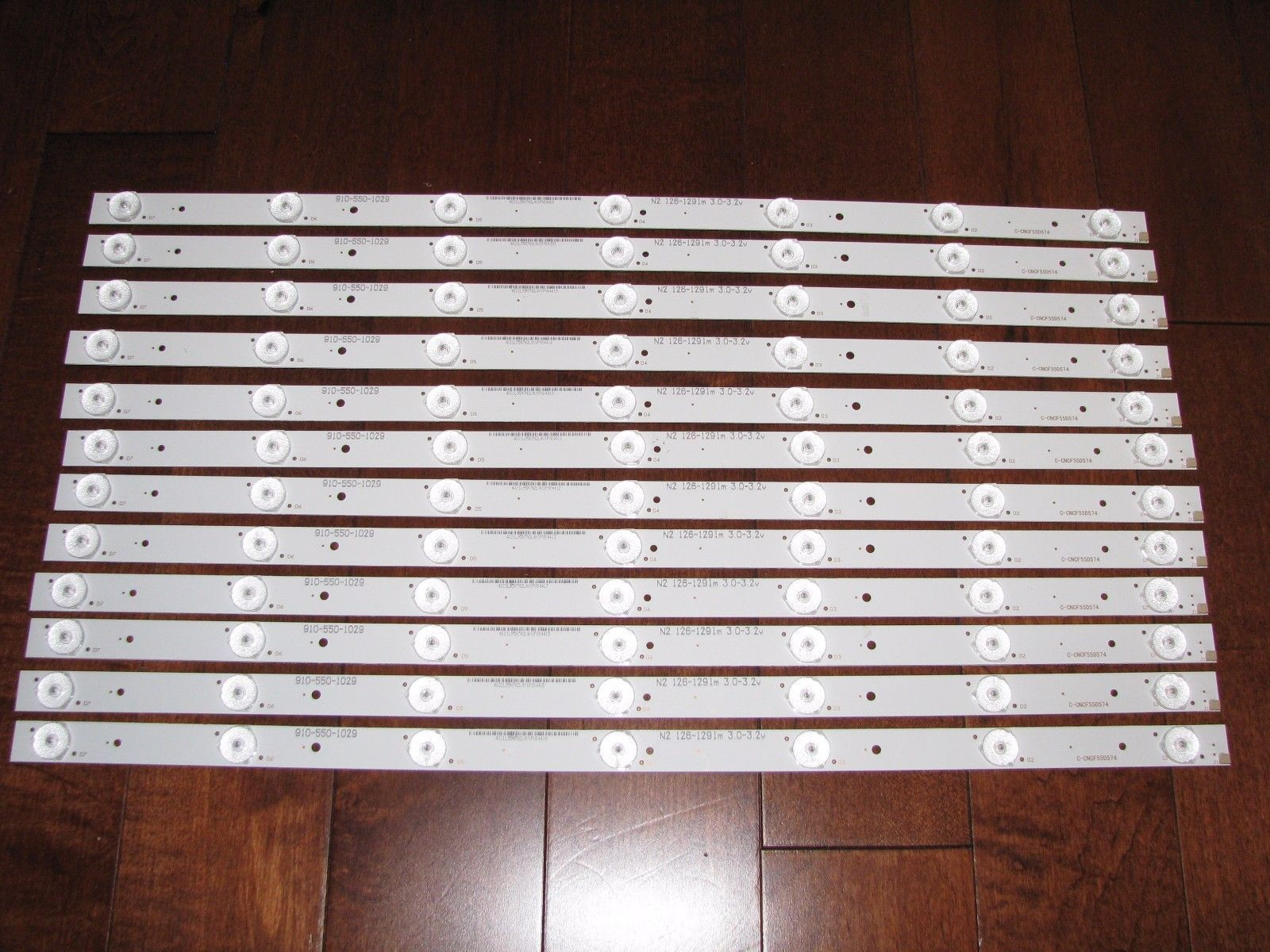 Panasonic TC 55CX400U LED Strips set of 12 C CNCF55D574