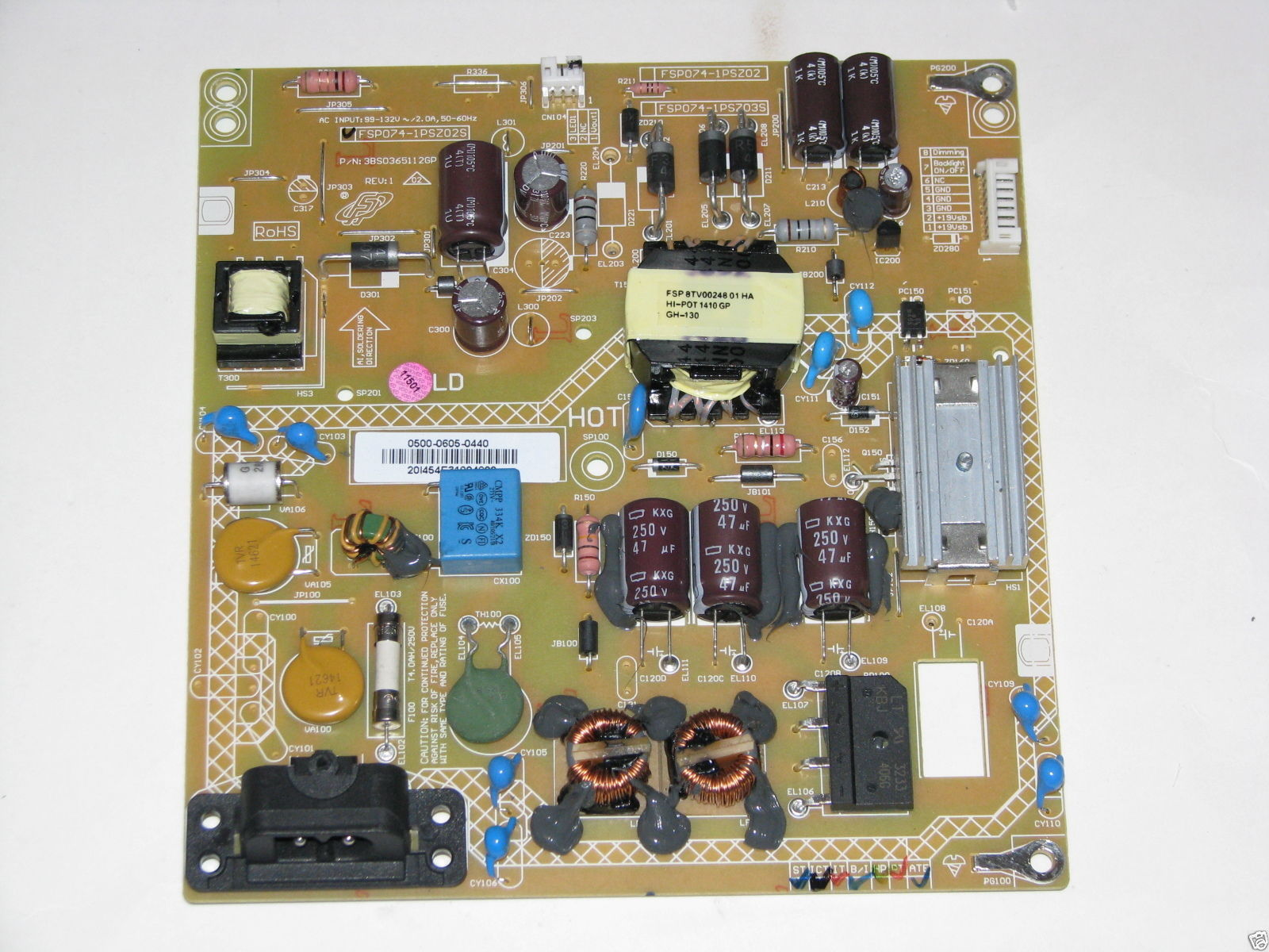 Sharp LC 32LE451U Power Supply 0500 0605 0440 9LE50006050440