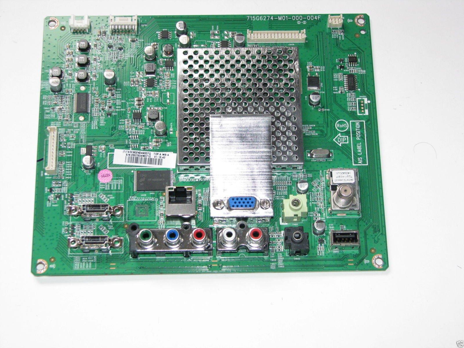 Vizio E280i A1 Main Board XDCB02K0490 756TXDCB02K0490