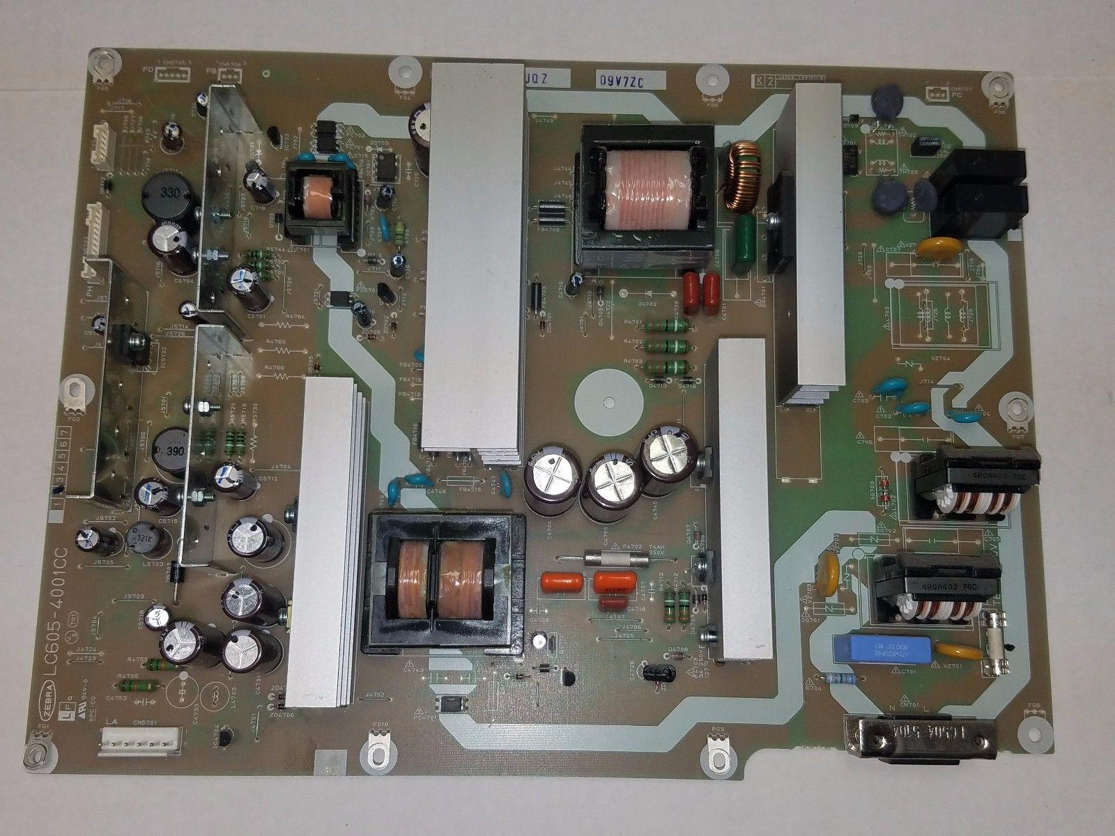 Sharp LC-52D43U Power Supply RDENCA184WJQZ