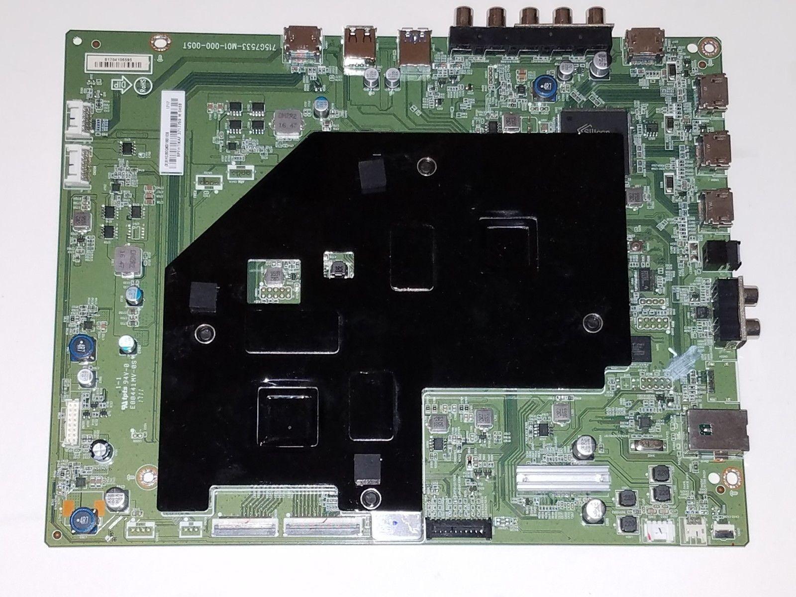 Vizio P55-E0 Main Board 756TXHCB0QK0160