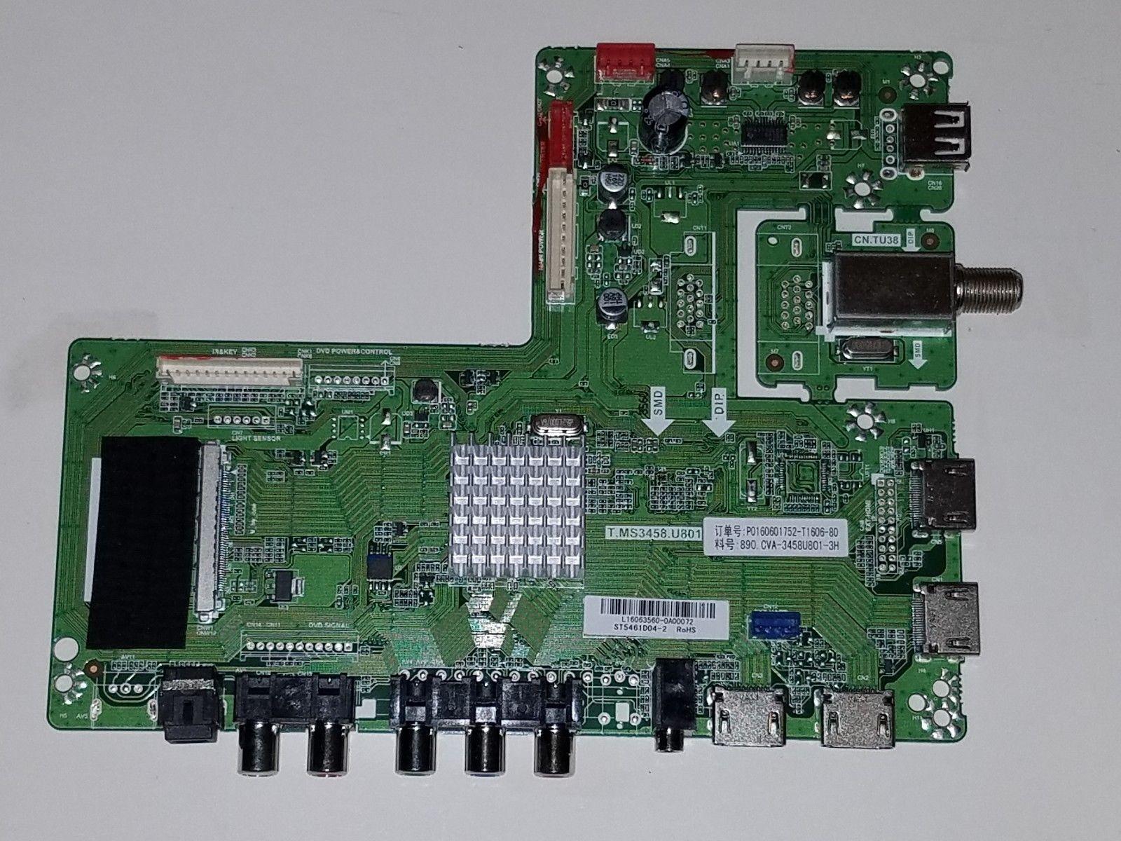 Sansui SLED5517 Main Board CV3458U801 3H