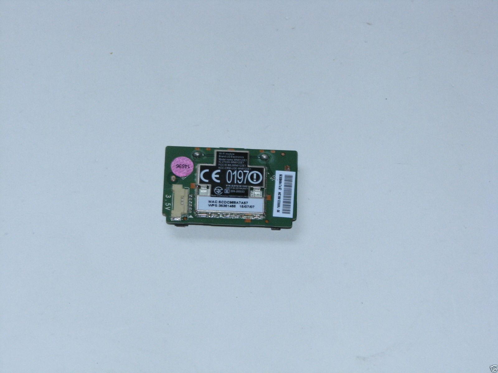 LG 65UF6450 55LF6100 Wifi Module EAT61813802