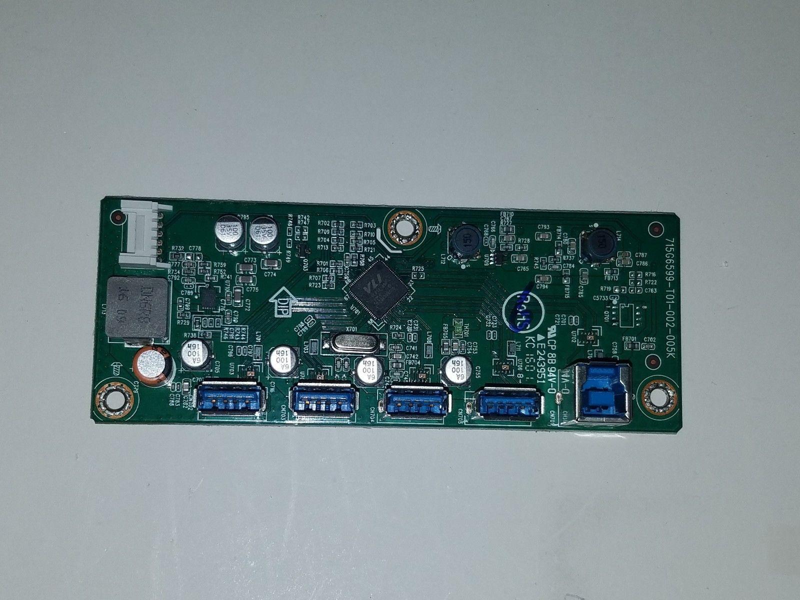 Philips BDM4350 Input Board GQFUSOPH0020