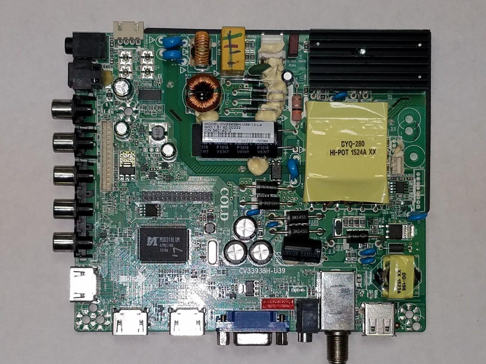 Westinghouse WD40FX1170 Main Board / Power Supply Version TW-02101-S040V