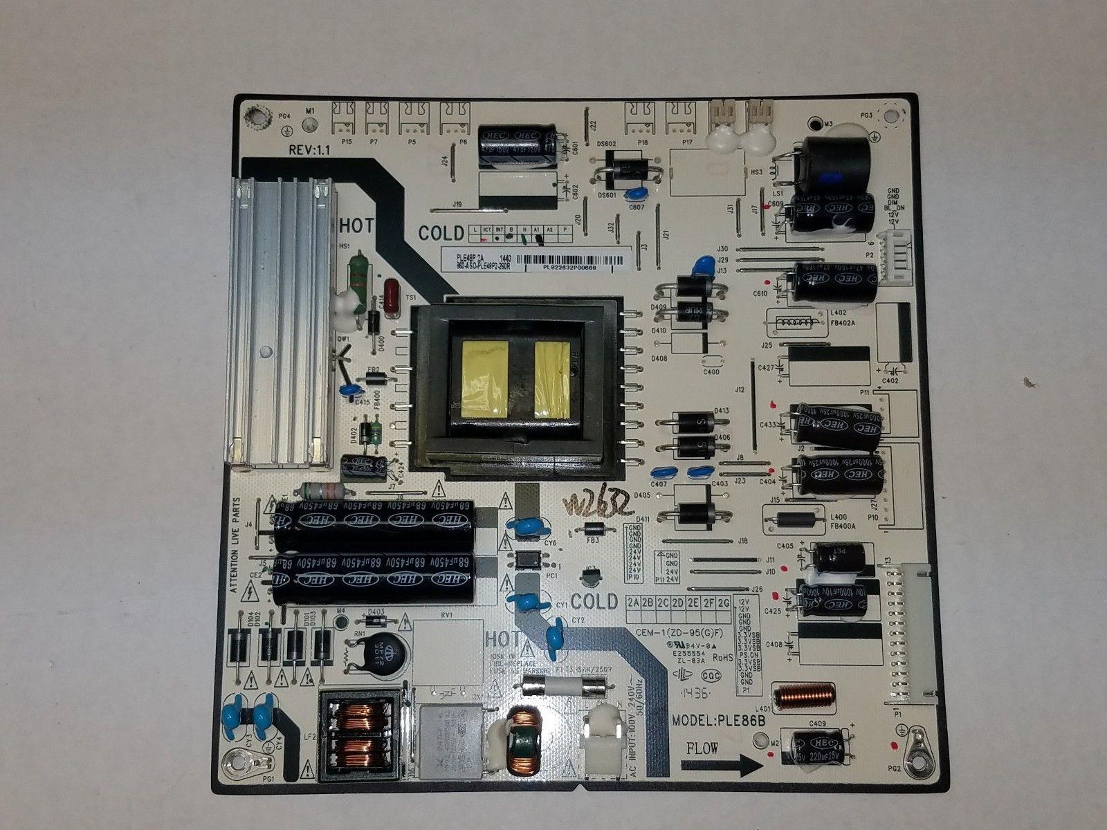 Viewsonic CDE3200-L Power Supply 860-AS0-PLE48P2-260R