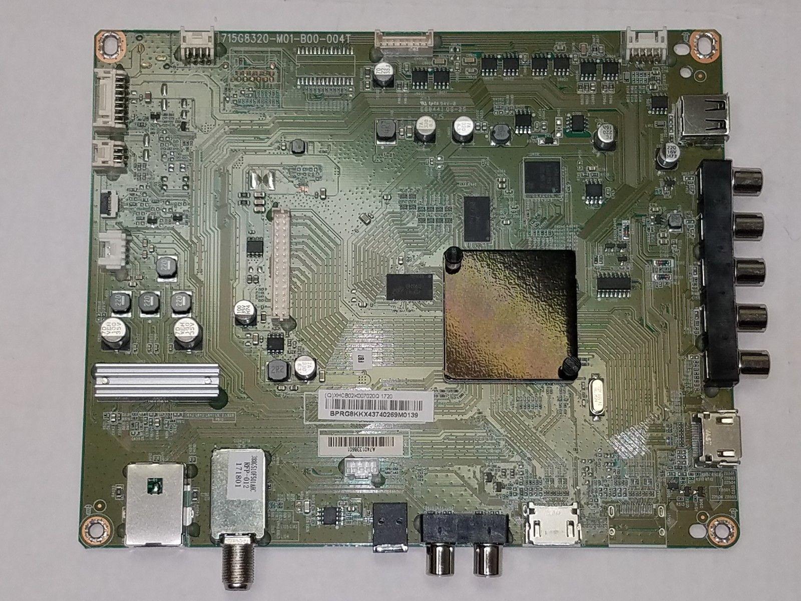 Vizio D39f-E1 Main Board 756TXHCB02K0070