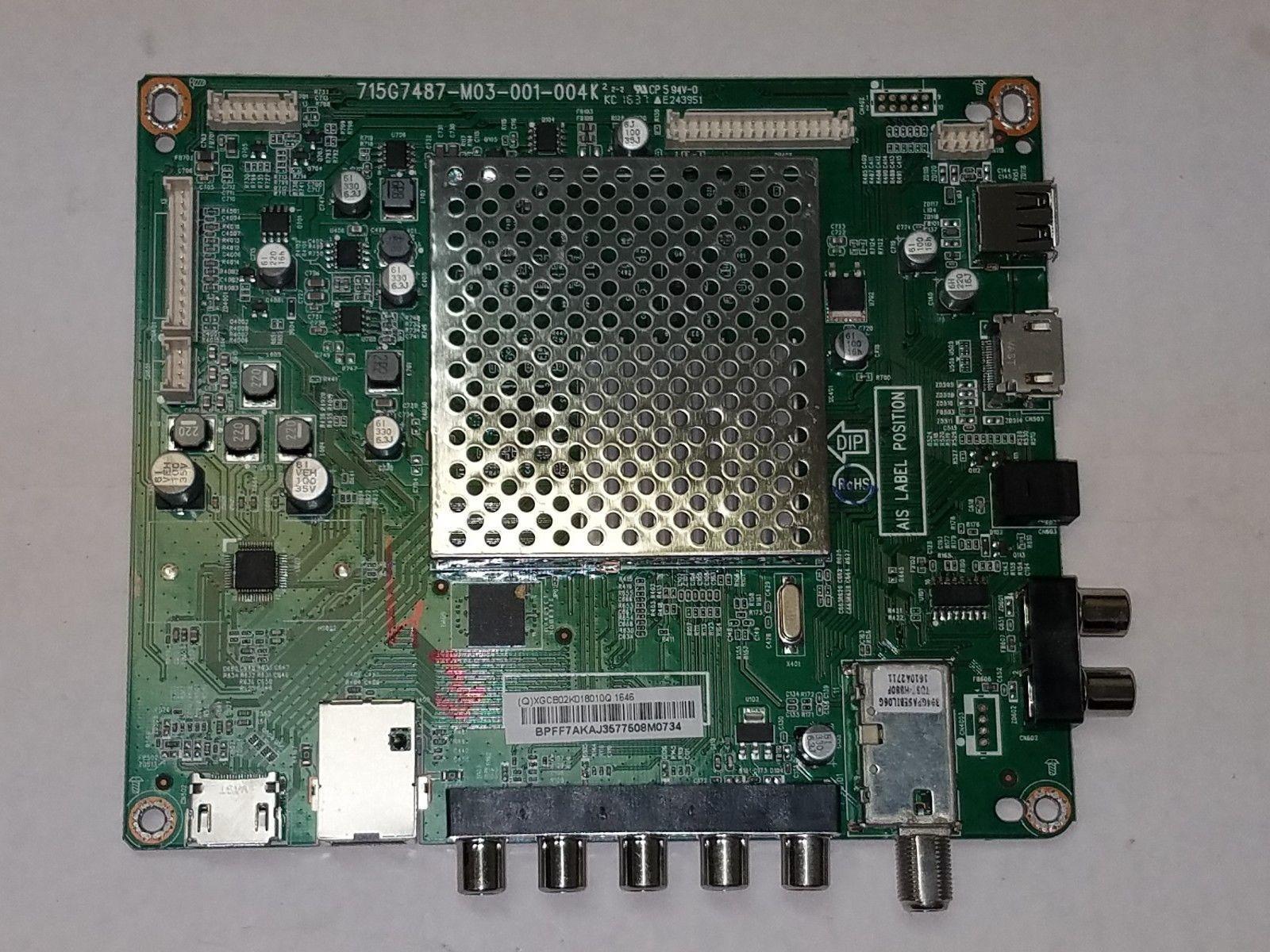 Vizio D32h-D1 Main Board 756TXGCB02K0180