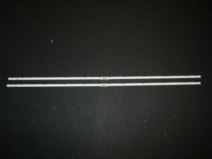 Samsung UN55NU7300F LED Backlight Strip Set (2) AOT 55 NU7300 NU7100 2X40 3030C