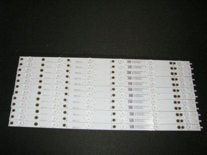Vizio D50f F1 LED Strip Set (12) LB50071 V0 00