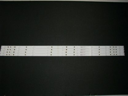 Vizio D40f F1 LED Strip Set (4) GJ 2K18 D2P5 400 D409 V4