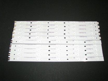 Vizio E40x C2 LED STRIP SET (5) IC B HWX40D494L & (5) IC B HWX40D494R