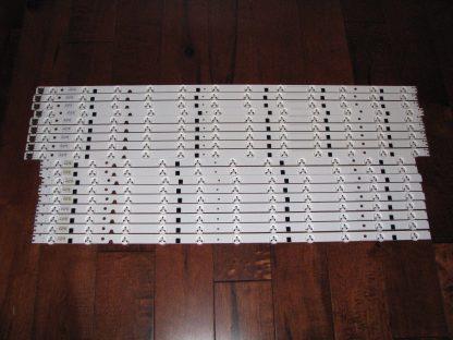 Samsung UN65EH6000 LED Strip Set 9 of each 2012SVS 3228 RIGHT11 LEFT12