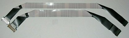 Sony XBR 65X850F LVDS Ribbon Cables 1 912 545 11 1 912 547 11
