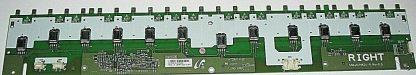 Sony KDL 46V3000 Right Backlight Inverter 1 789 840 12