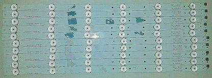 Furrion FEFS48F7A LED Strip Set (10) 3BL T483402 01