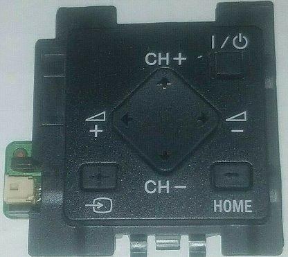 Sony KDL 60W850B Button Board 1 798 510 11