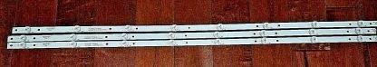 Insignia NS 43D420NA18 LED Strip Set (3) 2D03336 Rev.E