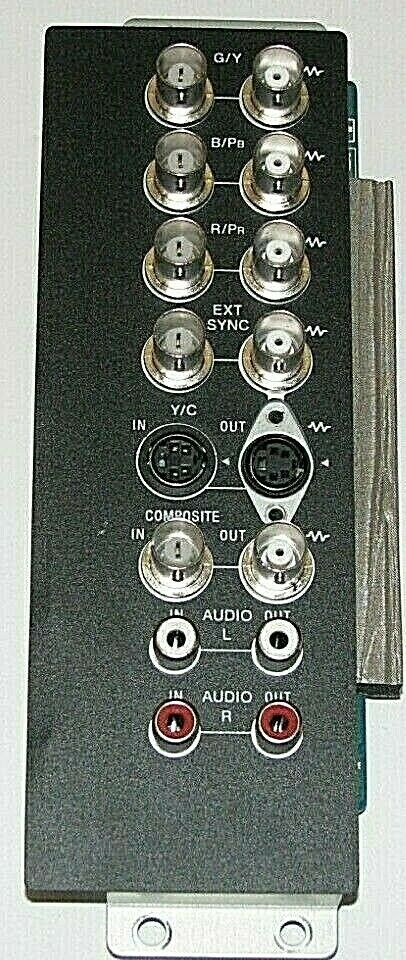 Sony LMD 4250W LMD4250 Q Input Board 1 789 983 11