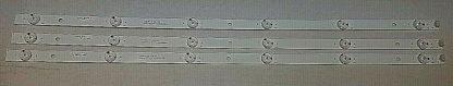 LG 28LJ400B PU LED Strip Set (3) 2D03018 Rev:D
