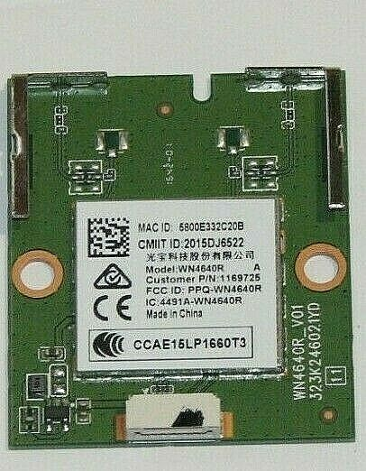 Sharp LC 55P5000U WiFi Module 1169725