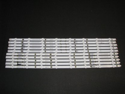 Vizio E55u D0 LED Strip Set (5) LB55075 V0 05 (5) LB55075 V1 05