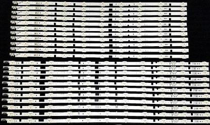 Samsung UN65F6300 LED Strip set (11) BN96 25316A (11) BN96 25317A