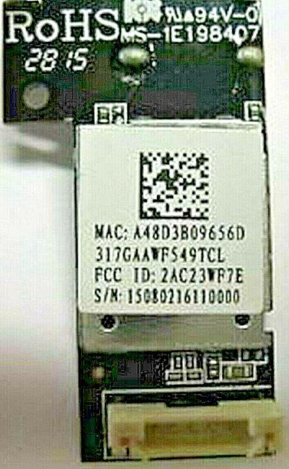 Vizio E28h C1 Wifi Module 317GAAWF549TCL