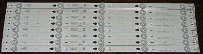 TCL 48FS3750TAAA LED Strip Set (8) 48HR330M05A1 V2