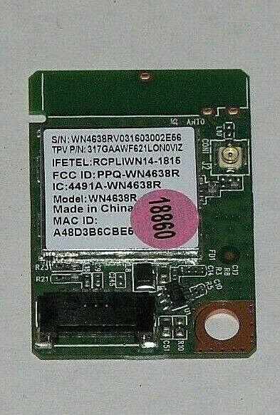 Vizio D24 D1 Wifi Module WN4638R 317GAAWF621LON0VIZ