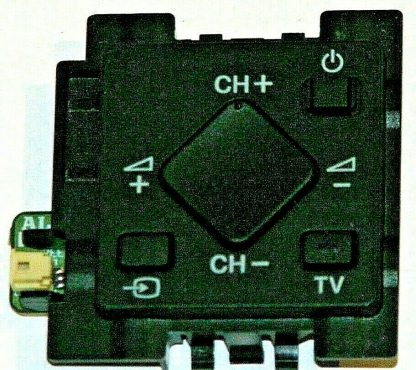 Sony XBR 65X850D Button Board 1 798 511 21