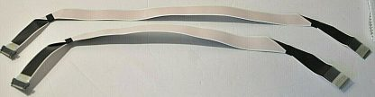 Sony XBR 85X850F LVDS Ribbon Cables 1 912 539 11 1 912 543 11