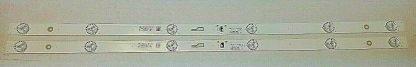Insignia NS 32D311NA17 LED Strip Set (2) 32HR332M06A9 V0