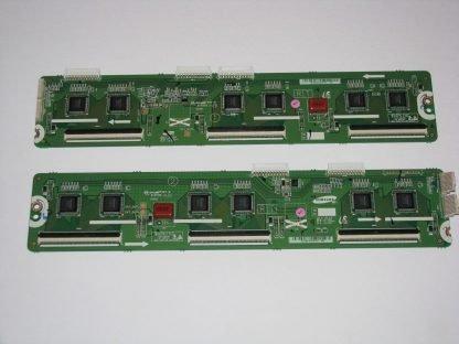 Samsung PN60F5300 Upper/Lower Y Buffer LJ92 02050A LJ92 02051A