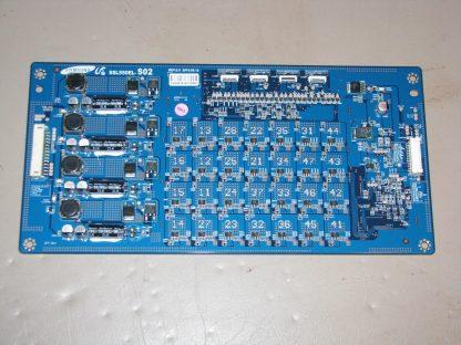 Sony KDL 55NX810 LED DRIVER BOARD SSL550EL S02 REV:2.0